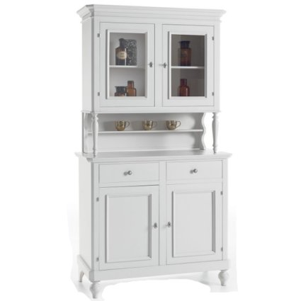 Michelangelo wooden 2-door sideboard in shabby chic style for home, restaurants, community, hotels Imba IM-6033/A 1
