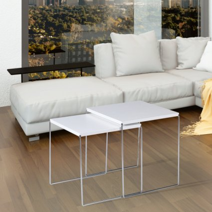 New Line Double Coffee Table Set Fixed Tables MA-1142 1
