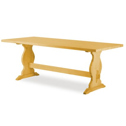 Paride Fratino 180 wooden rectangular Table rustic country kitchen restaurant pizzerias community bar Tables AV-T/184 0