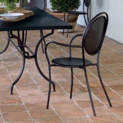 Paris Vermobil Stackable metal armchair for garden Sedie VM-PA300 12