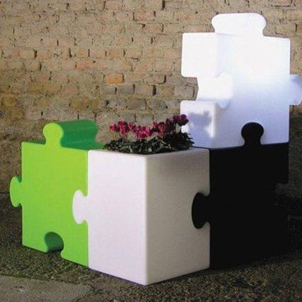 Puzzle Corner Floor Lamp  Complementi SI-PUZ051 2