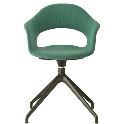 Scab Design Lady B Pop swivel trestle Armchair Metal Chairs SD-2599 0