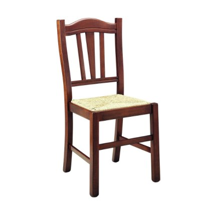 Silvana wooden chair Walnut Colour Temporary Outlet Sedie 42H-RIST 3