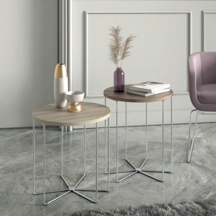 Silver Coffee Table Coffee Tables MA-1087 1