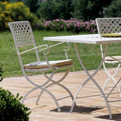 Springtime Vermobil Folding metal armchair for garden Sedie VM-SP3113 1