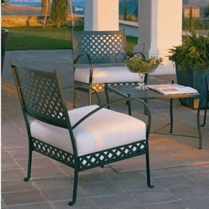Springtime Vermobil metal Lounge Armchair for garden Sedie VM-SP3130 1