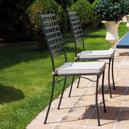 Tosca Vermobil Stackable metal chair for garden Sedie VM-TO101 1