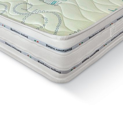 Trio Natural 80 polyurethane foam and memory foam Mattress Imba IM-3830 0