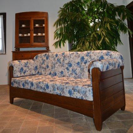 Venezia 3 seats Sofa rustic wood for home hotels bandb comunity All products 5DVVNZ30M02 1