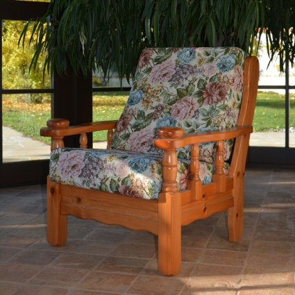 Vienna Armchair rustic wood for home hotels bandb comunity Sofas MI-5PTVIE 0
