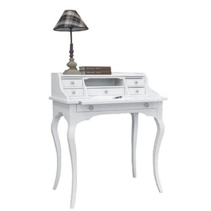 Wooden shabby chic style Secretaire Matisse desk for home, restaurants, community, hotels Imba IM-6053/A 1