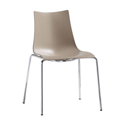 Zebra Tecnopolimero Turtledove Chair Scab Design Temporary Outlet Metal Chairs SD-2615-CR-15-OUTLET 1