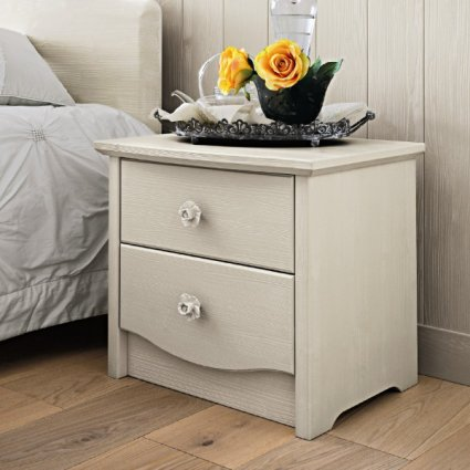 Everyday 2 drawers Bedside Table Bedroom Furnishing Accessories CA-V0532 0