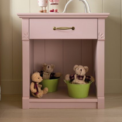 Turandot Bedside Table with drawer Bedroom Furnishing Accessories CA-R0112 0