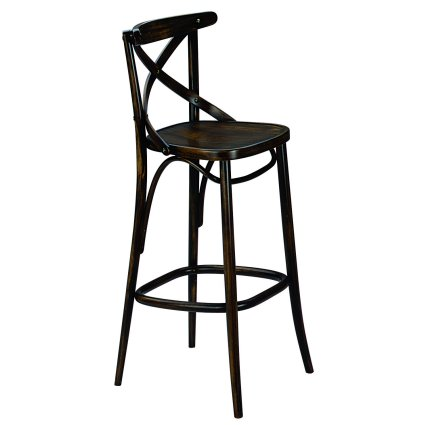 Croce Stool viennese style tonet bistrot for home restaurants pizzerias community bar Chairs, Armchairs, Stools and Benches SE-CROCE-SG 0