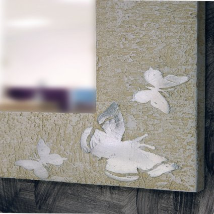 Butterfly Domus Mirror Bedroom Furniture DM-SPBU-Muro Graffiato 0
