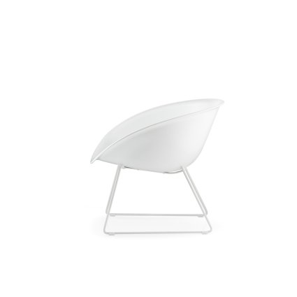 Gliss 340 white frame Lounge Chair Chairs, Armchairs, Stools and Benches PE-340-BI 4