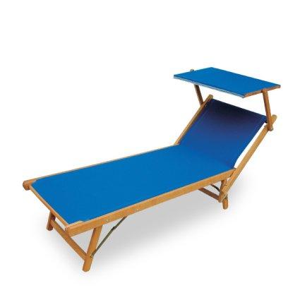 Mare wooden Sun Lounger Sedie e tavoli PLV330 0