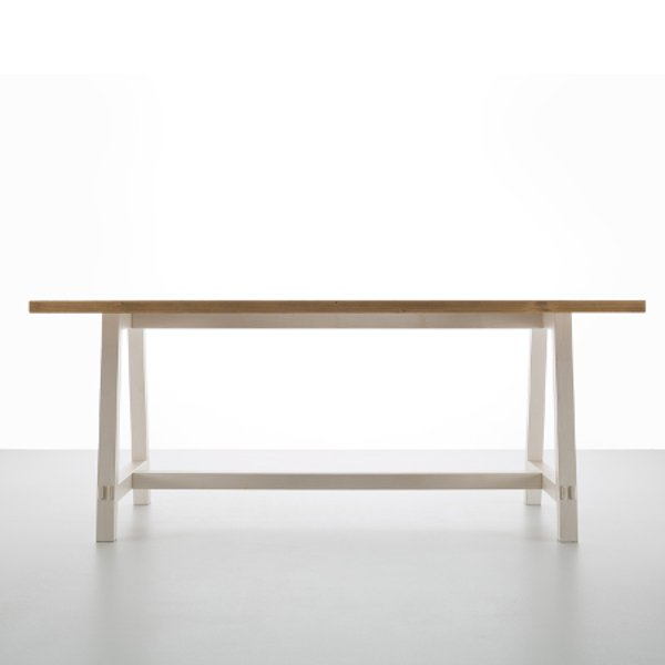 New Fratino 200 rustic shabby chic wood Table - MobilClick