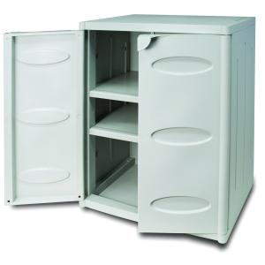 Low Multipurpose Cabinet System  in resin for outdoor / terrace Living Furniture BIA-02-195 0