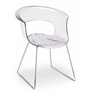Scab Design Miss B Antishock sled structure Chair Chairs, Armchairs, Stools and Benches SD-2691 3
