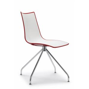 Scab Design Zebra Bicolore trestle base Chair Chairs, Armchairs, Stools and Benches SD-2611 0