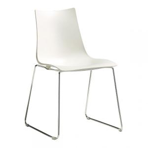Scab Design Zebra Tecnopolimero sled structure Chair Chairs, Armchairs, Stools and Benches SD-2618 0