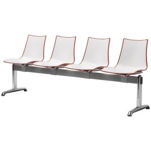 Scab Design Zebra Bicolore 4 seats Bench Panche SD-2767 0