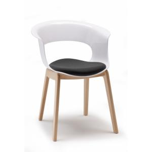 Scab Design Natural Miss B Antishock Armchair with pillow Chairs, Armchairs, Stools and Benches SD-2800 0