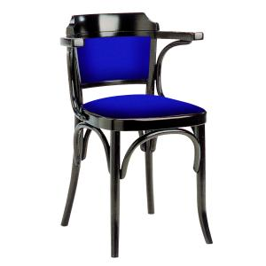 Sassonia Upholstered wood Armchair viennese style tonet bistrot for home restaurants pizzerias community bar Chairs, Armchairs, Stools and Benches SE-600-IMB 0