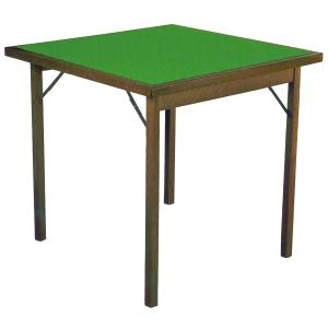 Card Table Classic 80 wooden square Tables DF-711 0