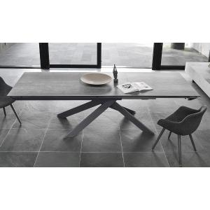 Calligaris CS/4102 Eclisse Table Outlet Metal Tables CS-4102 1