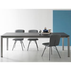 Connubia CB/4724-R 160 B Eminence Metal Table Sedie e tavoli CB-4724-M-160-B 0