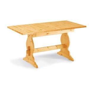 Paride Fratino 130 extensible rectangular wood Table rustic country kitchen restaurant pizzerias community bar Tables MI-1TVPAR13AF2 0