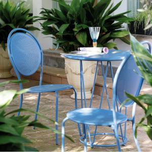 Paris Vermobil Stackable metal chair for garden Sedie VM-PA100 3