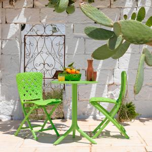 Set Spritz Table + 2 Zac Spring Folding Chairs OFFERTE NA-40058-40325 0