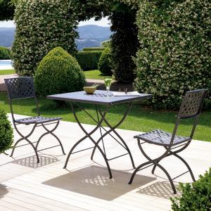 Springtime Vermobil Folding metal chair for garden Sedie VM-SP3112 1