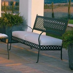 Springtime Vermobil metal 2 seater sofa for garden Divani VM-SP3131 1