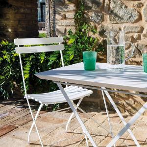 Step Vermobil Folding metal chair for garden Sedie VM-ST105 1