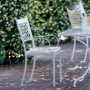 Summertime Vermobil Stackable metal armchair for garden Sedie VM-SU300 1