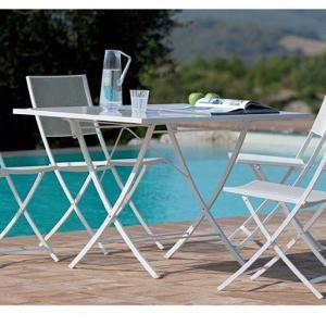 Vegas Vermobil Folding rectangular metal table for garden Tavoli VM-VE2120 1