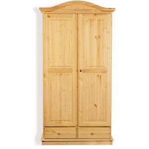 Venere 2 doors wooden wardrobe for home hotels bandb comunity Mobililar MI-3ARVEN2ACB2 0