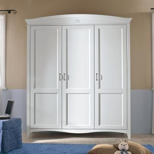 Butterfly 3 doors Wardrobe Wardrobes and Closets CA-R0302 0