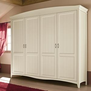 Butterfly 4 doors Wardrobe Wardrobes and Closets CA-R0304 0