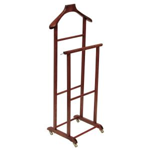 Double wood Clothes Holder for home hotels bandb comunity Bedroom Furniture PLV-420 0