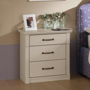 Turandot 3 drawers Bedside Table Bedroom Furnishing Accessories CA-R0114 0