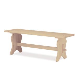 Fenice 180 Bench rough DIY Furniture AV-FRA180 0
