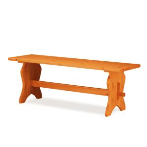 Fenice pizzeria 130 wood Bench rustic country kitchen restaurant community bar Outlet 1PAFEN13002outlet 0