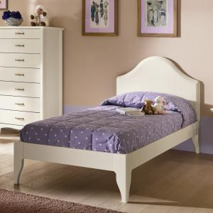 Gendarme Romantic rustic shabby chic style wood single Bed Beds CA-R0058 0