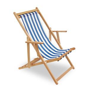 Mare wooden Sun Lounger Sedie e tavoli PLV320 0